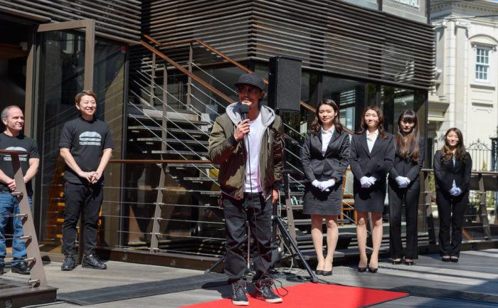 赤西仁「今日はロスでよく食べたハンバーガーをまた食べに来ました。」!LA発・UMAMI BURGERついに日本上陸! d9a94e2c0a0b75d0119c9b4c6ab0502f-700x433
