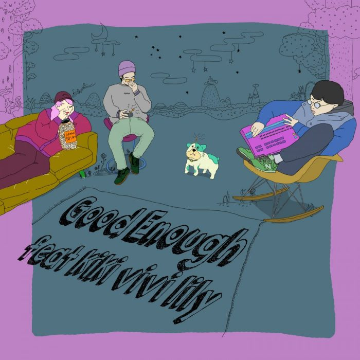 「MTV EXCLUSIVE」にも選出!ヒップホップシーンのニューカマー・唾奇×Sweet Williamに注目 goodennoughftkikivivilily-700x700