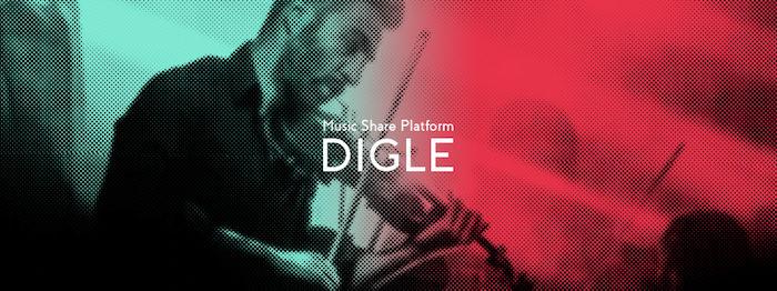 気軽に音楽をディグれる!音楽プレイリスト共有サービス「DIGLE」、メジャーレーベルとも連携 main-5-700x262