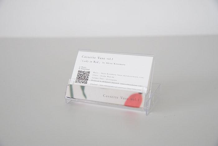 """カセット型一輪挿し花瓶『cassette vase』で""""日常に花と音楽を""""。 art170516_rokkanproduct_4-700x468"""