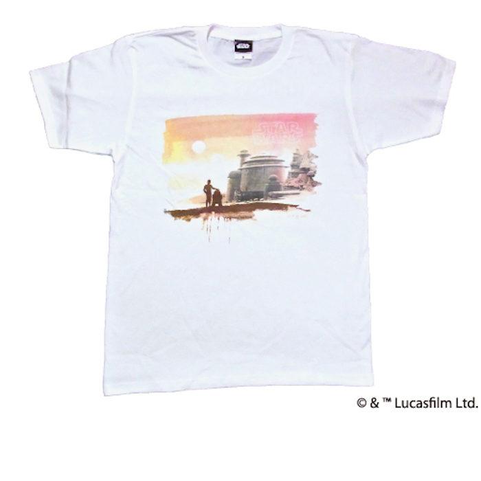 <RSR>×GAN-BAN、『STAR WARS』Tシャツ発売!「ライジングサン」を眺めるC-3PO! rsr-17-starwars-01-700x700