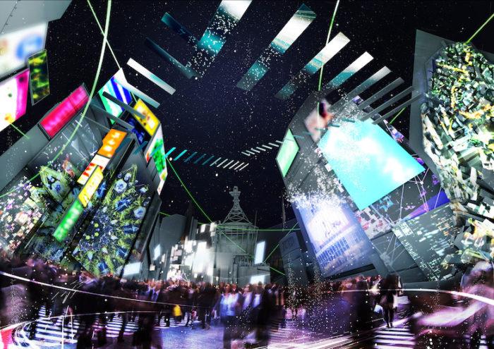 ゴジラとパックマンが新宿歌舞伎町で共演。東京の象徴となる8スポットがアート空間に sub3-3-700x495