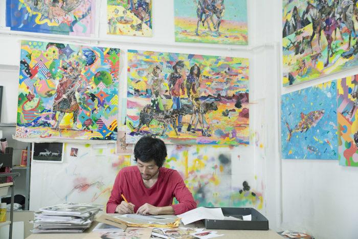 【インタビュー】アーティスト長尾洋がコラージュに映し出す人間のルーツ km-post59__DSC3300-700x467