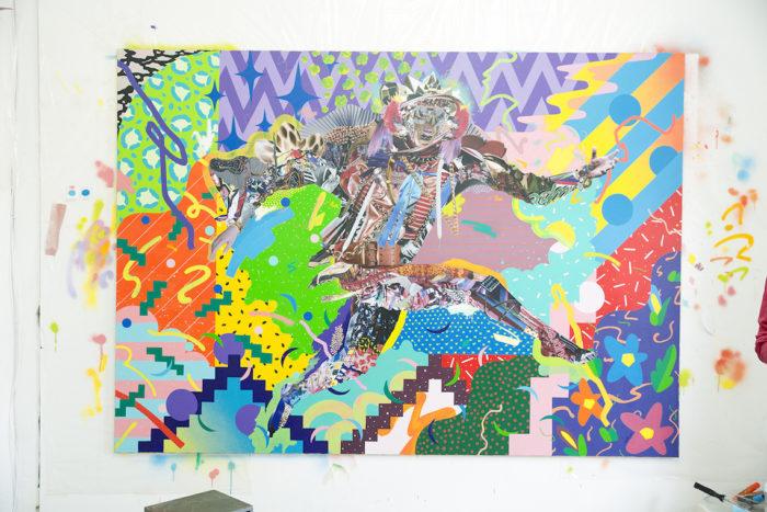 【インタビュー】アーティスト長尾洋がコラージュに映し出す人間のルーツ km-post59__DSC3475-700x467