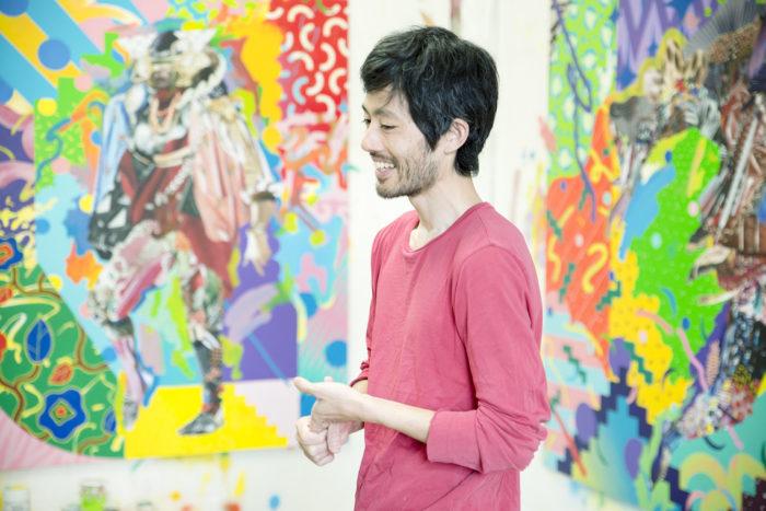 【インタビュー】アーティスト長尾洋がコラージュに映し出す人間のルーツ km-post59__DSC3479-700x467