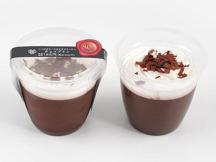 チョコレートの甘い味わいを堪能!カカオ75%「カフェモカ バナナ」やカカオ80%「チョコプリン」など発売! Fo170713_highcacao_2-700x525