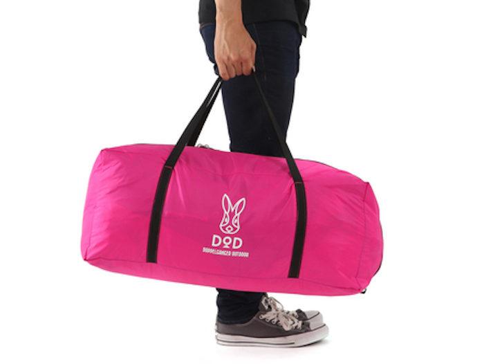 フェス・キャンプで目立ちたい女子必見!ド派手なピンクのテント&タープはゆったり広々♪ life170710_doppelganger3-700x526