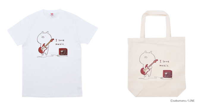 LINEスタンプ界のスター「うさまる」がロックTシャツに! life170724_usamaru_1-700x350