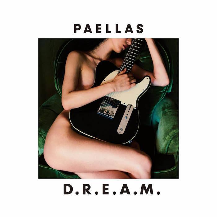 ヌードモデル・兎丸愛美を起用!PAELLAS、アルバム『D.R.E.A.M.』ジャケ写公開! musci170721_paellas_1-700x700