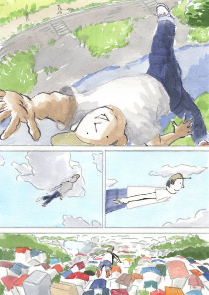 【あのMVを漫画で描く】風をあつめて/はっぴいえんど 384a7acaecada904b83b20f6ddd67de5-700x989