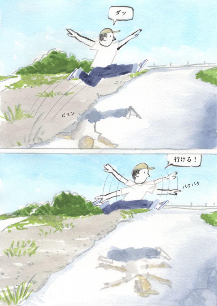 【あのMVを漫画で描く】風をあつめて/はっぴいえんど d0bf4d227b0f693467f36eae7ffb68f0-700x989