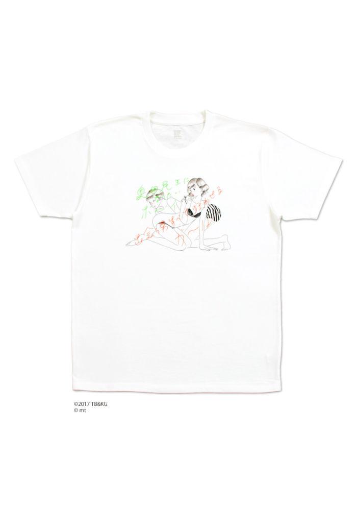 グラニフから『奥田民生になりたいボーイと出会う男すべて狂わせるガール』 のコラボ Tシャツが発売! graniph_170825_5-700x991