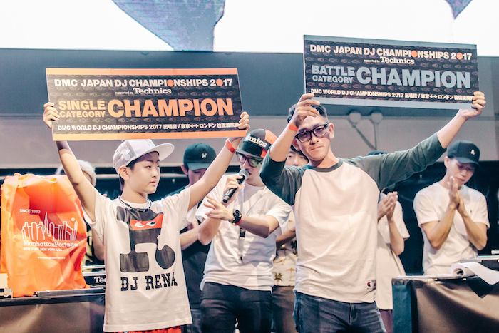 【レポート】DJ同士の熱き戦い<DMC JAPAN FINAL>。弱冠12歳、DJ RENAが優勝! dmcjapan-1709068-700x467