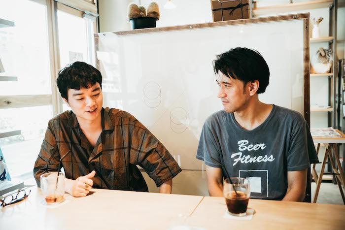 【対談】染谷将太×渡邊琢磨 映画監督と音楽家の関係、最新作『ブランク』を語る film_blank_14-700x467