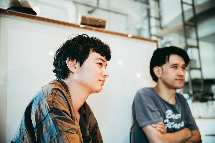 【対談】染谷将太×渡邊琢磨 映画監督と音楽家の関係、最新作『ブランク』を語る film_blank_22-700x467