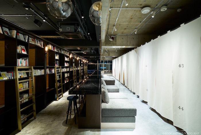 泊まれる本屋「BOOK AND BED TOKYO」新店舗は真っ二つ!新パジャマも登場! life170929_bookandbedtokyo_8-700x470