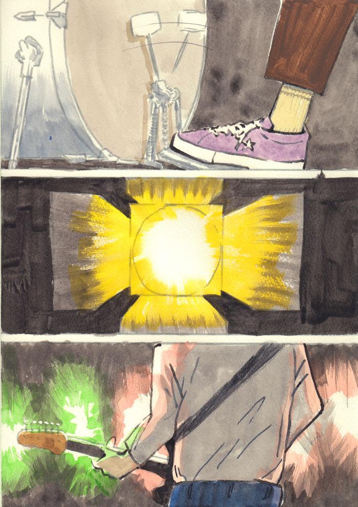 【あのMVを漫画で描く】SPARKLE/山下達郎 sparkle5-700x990