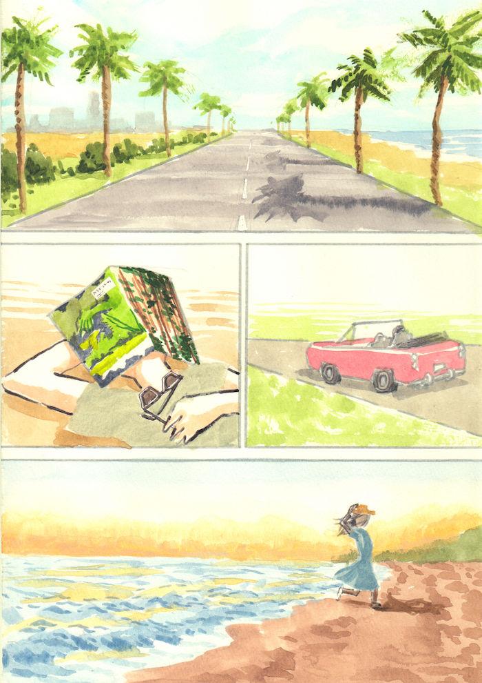 【あのMVを漫画で描く】SPARKLE/山下達郎 sparkle6-700x990