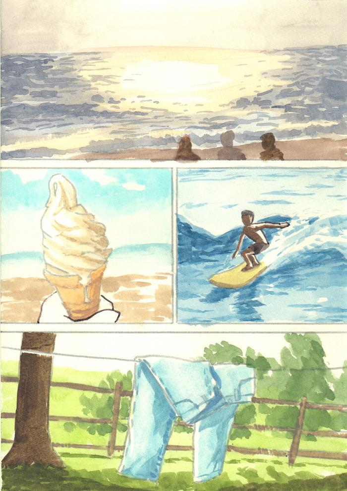 【あのMVを漫画で描く】SPARKLE/山下達郎 sparkle8-700x990