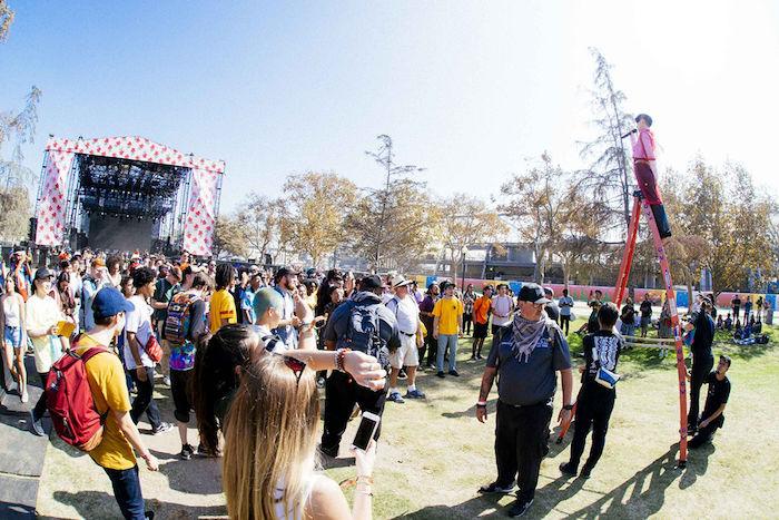 【ライブレポ】タイラー・ザ・クリエイター主催フェス<CAMP FLOG GNAW CARNIVAL2017>に水曜日のカンパネラが出演! music171031_wedcamp_5-700x467