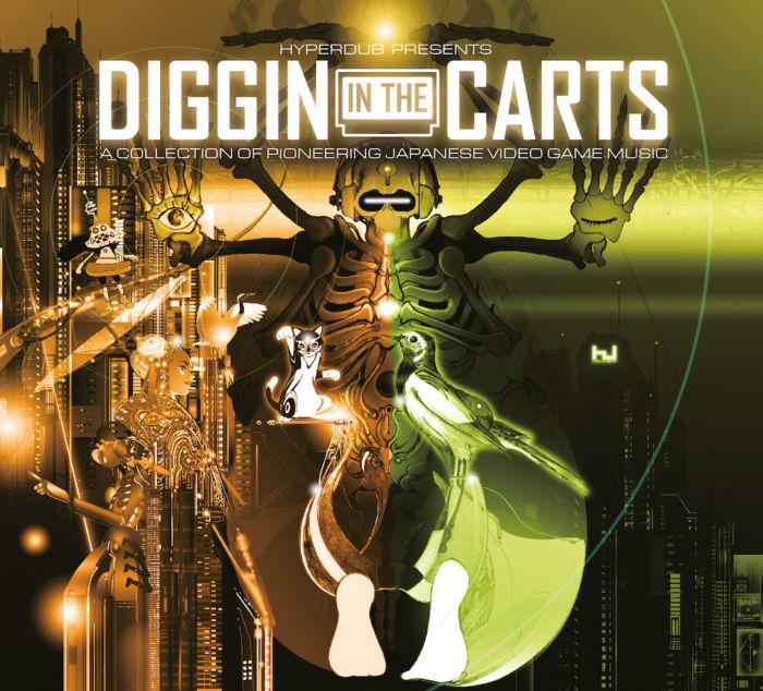 コンピレーションアルバム『Diggin' In The Carts』楽曲公開!ゲーム音楽×電子音楽フェスタイムテーブルも発表! diggininthecarts-171116-700x634