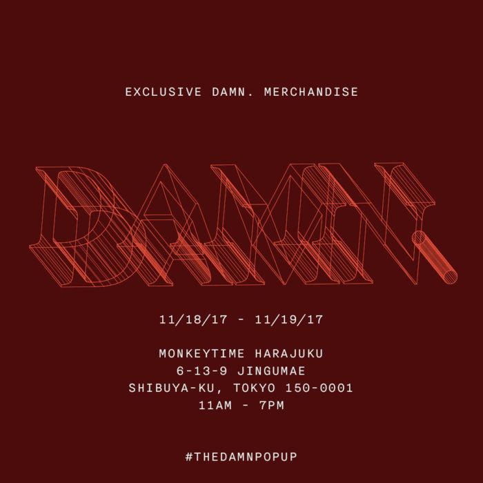 【レポート】ケンドリック・ラマー『THE DAMN. POP UP』東京オープン!早朝から行列が発生!! fashion171117_thedamnpopup_01-1-700x700
