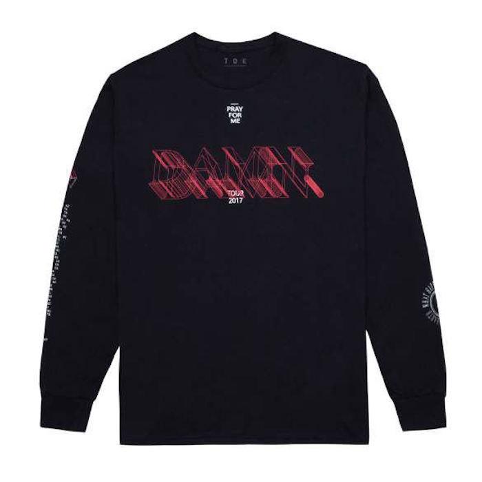 ケンドリック・ラマー『DAMN.』POPUPラインナップをチェック!Tシャツ、パーカー、キャップなど15アイテム fashion171117_thedamnpopup_1-700x700