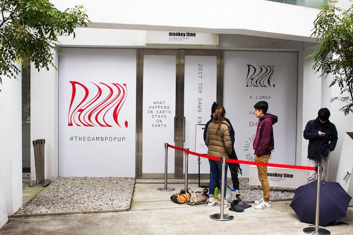 【レポート】ケンドリック・ラマー『THE DAMN. POP UP』東京オープン!早朝から行列が発生!! fashion171118_thedamnpopup_1-700x467