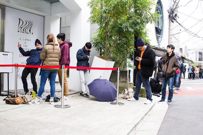 【レポート】ケンドリック・ラマー『THE DAMN. POP UP』東京オープン!早朝から行列が発生!! fashion171118_thedamnpopup_3-700x467