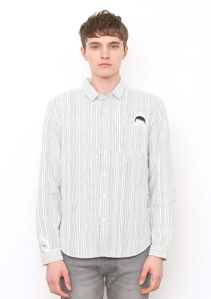 グラニフから『ちびまる子ちゃん』のコラボアイテムが登場!「ともぞう」Tシャツはマストバイ! graniph3-3-700x991