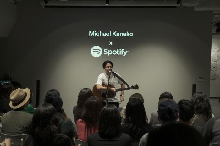 【ライブレポ】Michael KanekoがSpotifyオフィスでスペシャルアコースティックライブを披露 spotify-1712011-700x467
