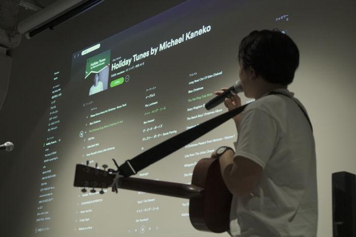 【ライブレポ】Michael KanekoがSpotifyオフィスでスペシャルアコースティックライブを披露 spotify-1712013-700x467