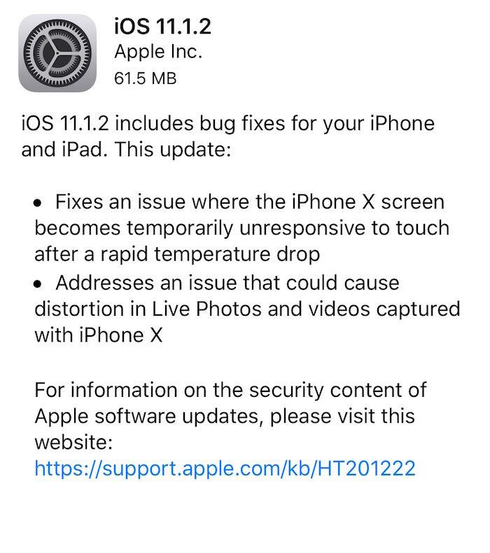 iPhone Xが寒いところで反応しない問題発覚!あっという間に修正 technology171117_ios11_1-700x790