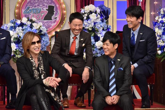YOSHIKI&GACKTの最強コンビが『芸能人格付けチェック』出演! music171205_yoshiki_2-700x467