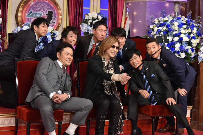 X JAPANのYOSHIKIが『しゃべくり007』で「地上で眠れない」という衝撃の悩みを明かす! music171205_yoshiki_3-700x467