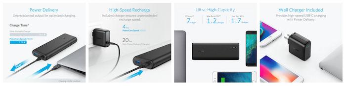 Ankerから「世界最軽量」、「超大容量」モバイルバッテリーが登場! technology171214_anker_2-700x175