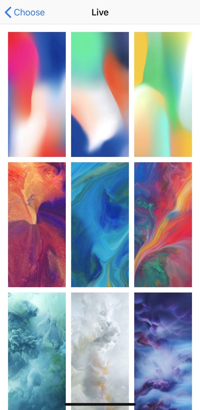 【iPhone Xの疑問解消】流動的な「ライブ壁紙」の設定方法 technology171228_iphonex_1-700x1435