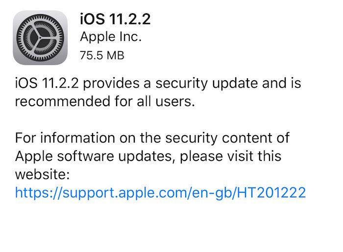 Appleが「iOS11.2.2」をリリース、脆弱性「Spectre」に対処!全ユーザにアップデート推奨 technology180109_aple_2-700x515