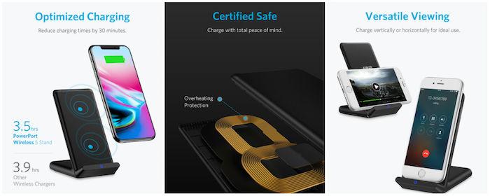 Ankerからコスパ最強のワイヤレス充電器登場!iPhone X、iPhone 8/8 Plusにもオススメ! technology180116_anker_technology180116_anker_1-700x280