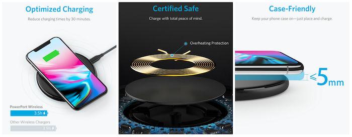 Ankerからコスパ最強のワイヤレス充電器登場!iPhone X、iPhone 8/8 Plusにもオススメ! technology180116_anker_technology180116_anker_2-700x273