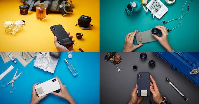 物理シャッターボタンを搭載できるiPhone Xケースが登場! technology180122_snapx_7-700x366