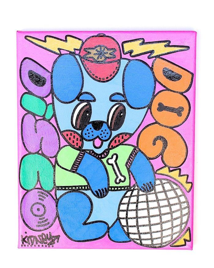 ベースメント・ジャックスのジャケ写も手がけるロブ・キドニーの個展<FRUITY DISCO>が開催! art180207_robkidney_1-700x876