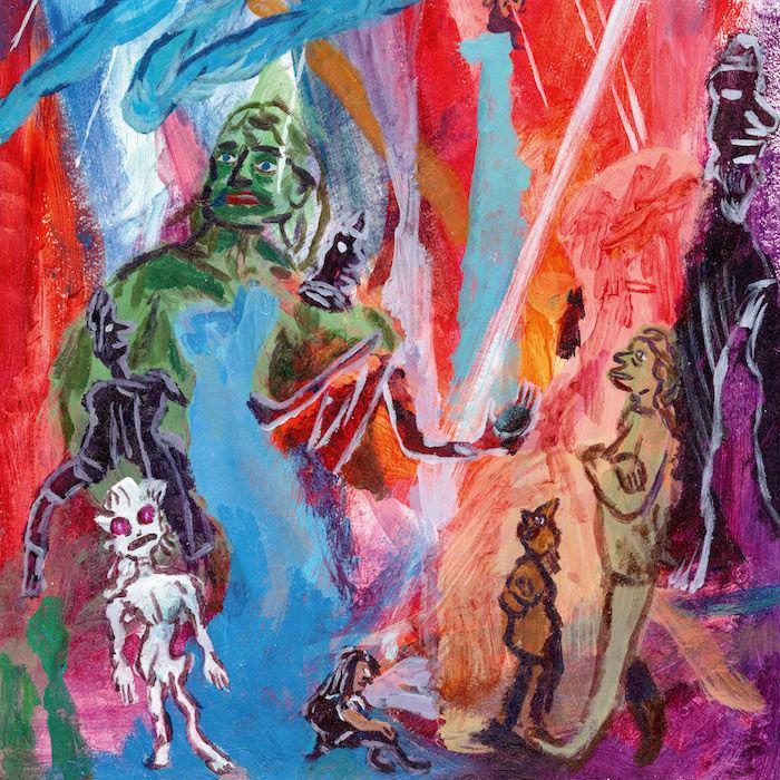 ゴート・ガール、デビューアルバム『Goat Girl』リリース決定!新曲「The Man」MVも公開! music180207_goatgirl_1-700x700