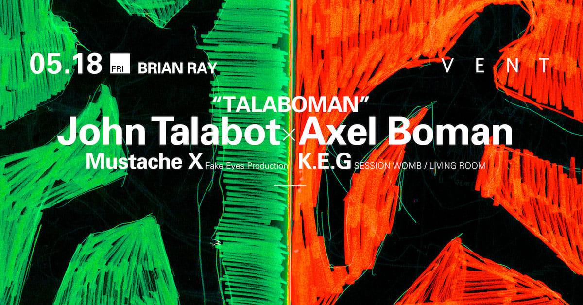 全日本人待望!The XXやDJ KozeもトリコにするTalaboman初来日がVENTにて5月に決定 music180327_talaboman_2-1200x628