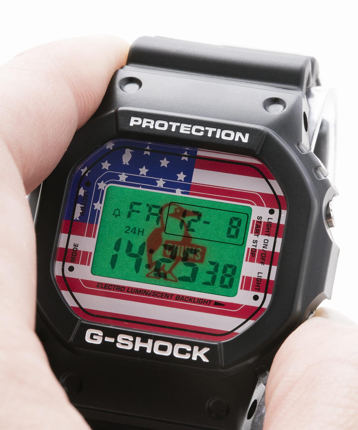 CHUMS×G-SHOCK!ともに35周年を迎えた両ブランドのコラボウォッチが登場! technology180316_chums-gshock_8-1200x1441