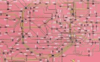 iPhoneケース「FLASH 東京回路線図」