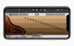 GarageBand iPhone X