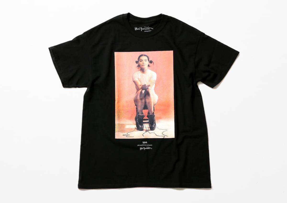 Kevin Cummins × BjorkのコラボTシャツ第二弾登場!MIKIKO率いるELEVENPLAYによるパフォーマンスムービーも公開! Bjork_3N1A9278_300dpi-1200x849