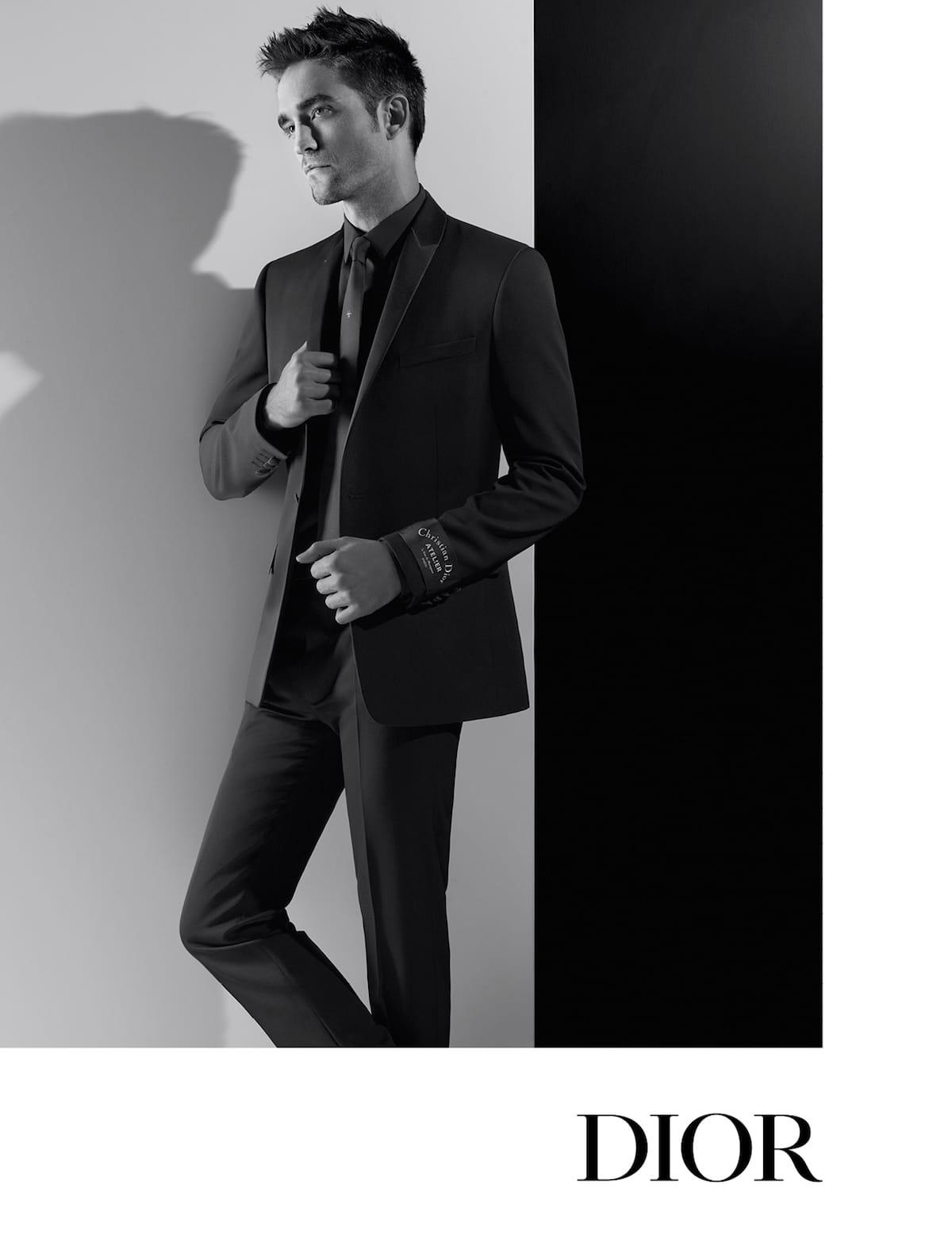 ロバート・パティンソンをカール・ラガーフェルドが捉える!Dior Homme AUTUMN 18 CAMPAIGN fashion180413_dior-homme_1-1200x1555