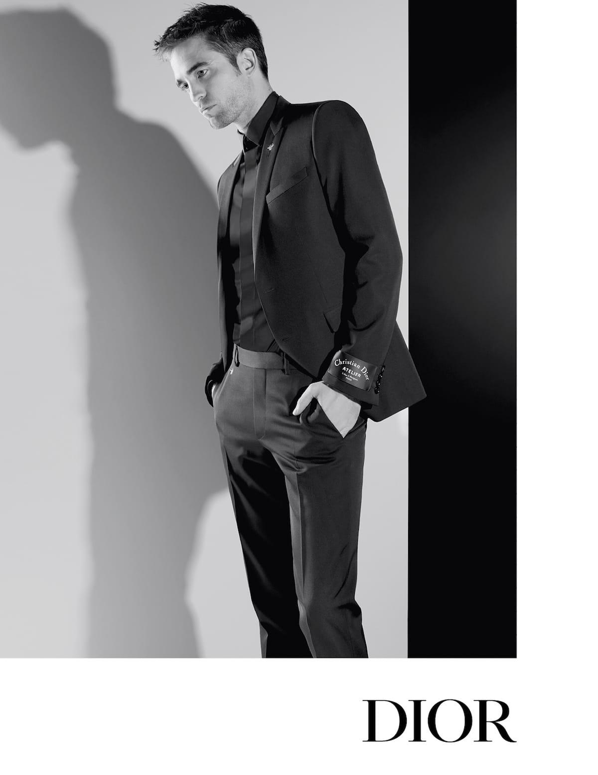 ロバート・パティンソンをカール・ラガーフェルドが捉える!Dior Homme AUTUMN 18 CAMPAIGN fashion180413_dior-homme_2-1200x1555